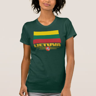 Orgulho lituano camiseta