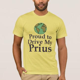 Orgulhoso conduzir minha camisa de Prius