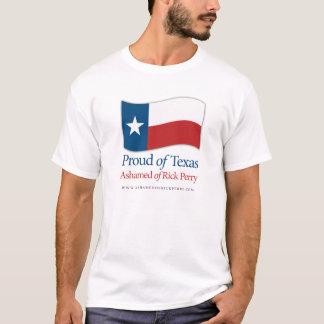 Orgulhoso da camisa de Texas