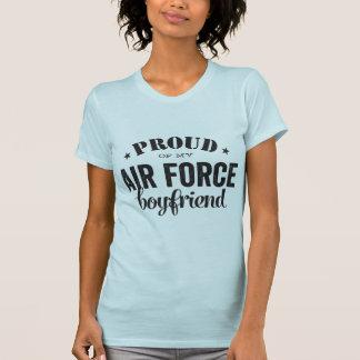 Orgulhoso de meu namorado da FORÇA AÉREA Camiseta