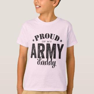 Orgulhoso de meu pai do EXÉRCITO Camiseta