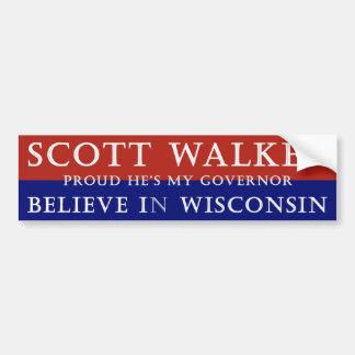Orgulhoso do caminhante de Scott Adesivos