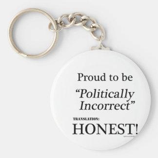 Orgulhoso & honesto chaveiro