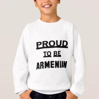 Orgulhoso ser arménio agasalho