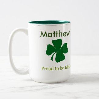 Orgulhoso ser caneca de café personalizada