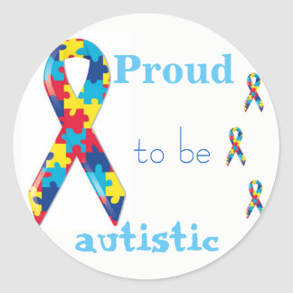 Orgulhoso ser etiqueta autística