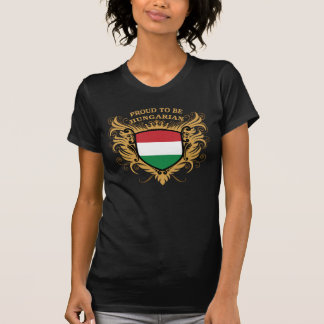 Orgulhoso ser húngaro camisetas