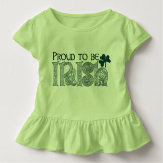 Orgulhoso ser irlandês, nó do céltico do Dia de Camiseta Infantil