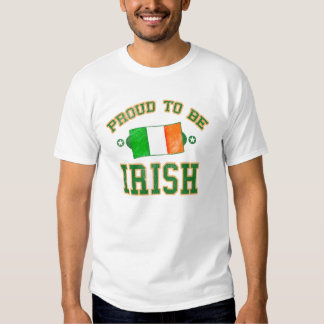 Orgulhoso ser o dia escolar de St Patrick irlandês Tshirt