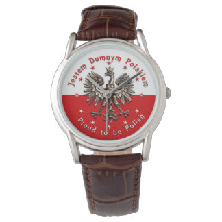 Orgulhoso ser relógio polonês