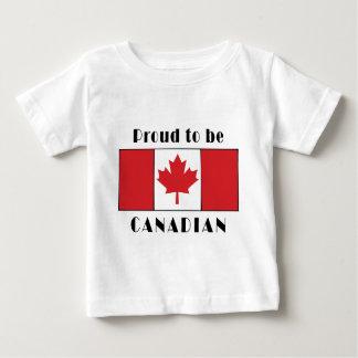 Orgulhoso ser t-shirt canadense