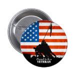 Orgulhoso ser um veterano botons