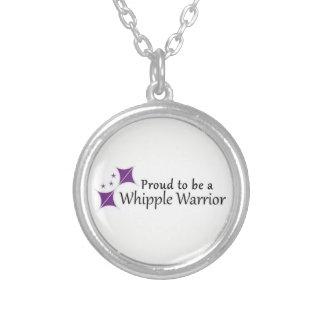 Orgulhoso ser uma colar do guerreiro de Whipple
