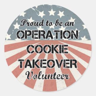Orgulhoso ser uma etiqueta voluntária (ajustada de