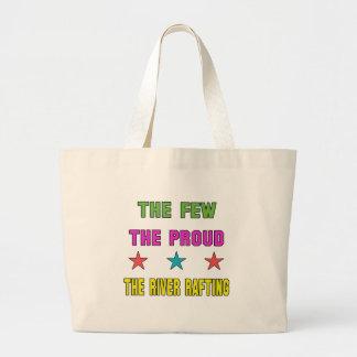 Orgulhoso transportar de rio sacola tote jumbo