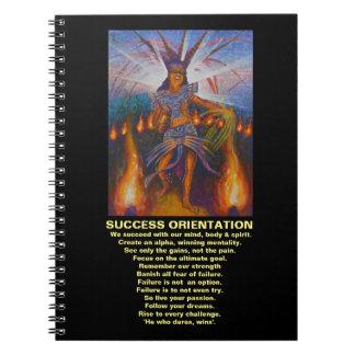 Orientação do sucesso - caderno da orientação do
