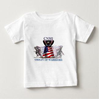 Origem dos guerreiros camiseta