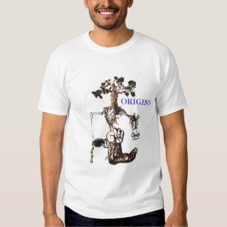 origens, ORIGENS Camisetas