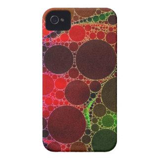 Original abstrato do arco-íris capa para iPhone