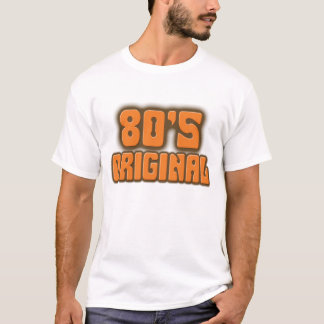 original do anos 80 camiseta