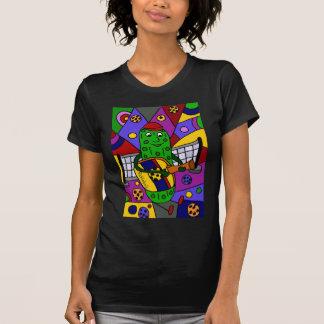 Original engraçado da arte abstracta de Pickleball Camiseta