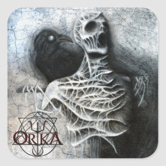 ORKA - Sussurros de um medo escondido - etiqueta