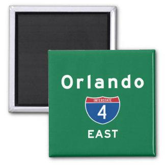 Orlando 4 ímã quadrado