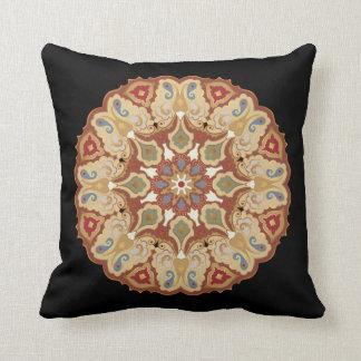 Ornamentado, travesseiro decorativo oriental do almofada