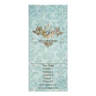 Ornamental barroco - cartão do Promo do insecto 10.16 X 22.86cm Panfleto