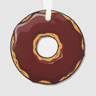 Ornamento 1 design da rosquinha do chocolate dos desenhos
