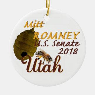 Ornamento 2018 do Senado de Mitt Romney