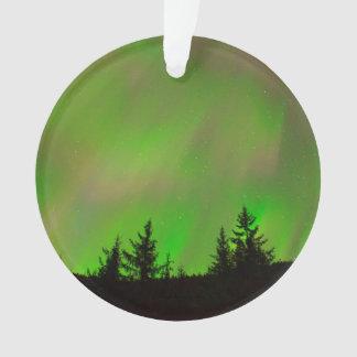 Ornamento A aurora boreal de Juneau