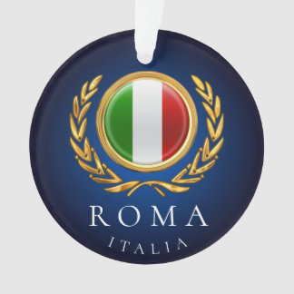 Ornamento A bandeira italiana - d'Italia do bandiera do La