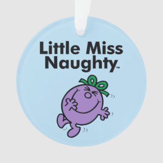 Ornamento A senhorita pequena pequena Impertinente da