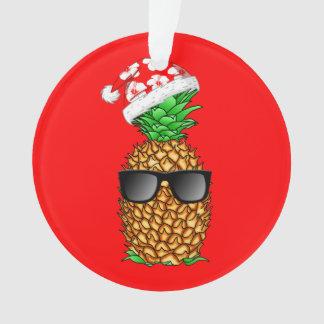 Ornamento Abacaxi de Papai Noel