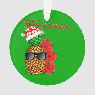 Ornamento Abacaxi do Natal de Mele Kalikimaka