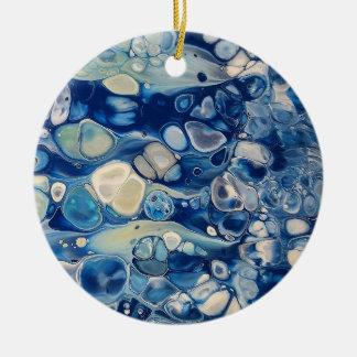"Ornamento abstrato do círculo ""tranquilo """