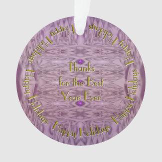 Ornamento Abstrato nos roxos com seu nome ou texto