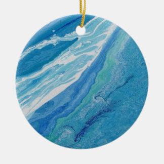 """Ornamento abstrato """"onda """" do círculo"""