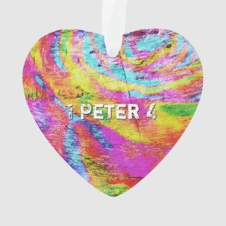 Ornamento Acima de 1 Peter 4
