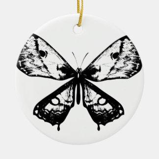 Ornamento acrílico com borboleta