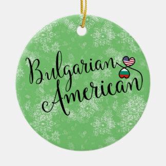 Ornamento americano búlgaro da árvore de Natal dos