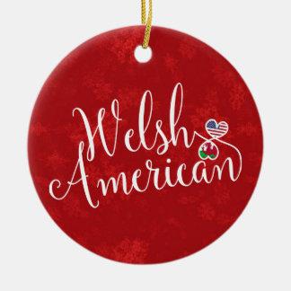 Ornamento americano da árvore de Natal dos