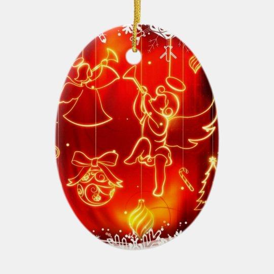 "Ornamento ""Anjos de Natal"""