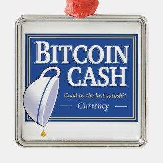 Ornamento ao último Satoshi do dinheiro de Bitcoin