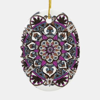 Ornamento artística da mandala