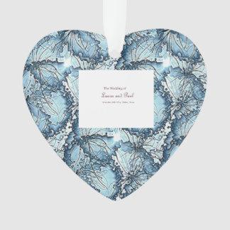 Ornamento artístico da forma do coração do