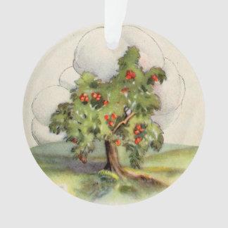Ornamento Árvore de Apple do vintage