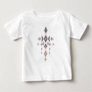 Ornamento asteca tribal étnico do vintage camiseta para bebê