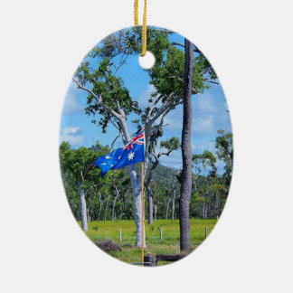 Ornamento australiano da bandeira